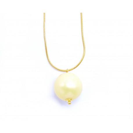 Řetízek s perlou Solitaire