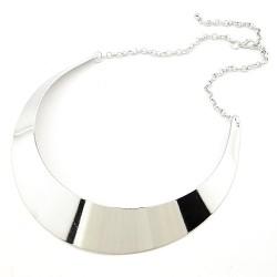 Kruhový náhrdelník Calliope stříbrný