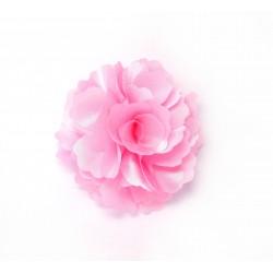 Látková květina Rose  růžová