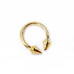 Prsten s ostny Spike zlatý