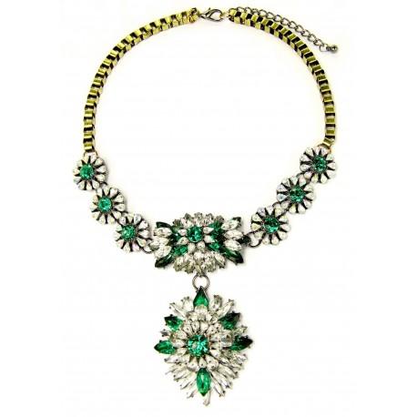 Statement náhrdelník Emerald Royal