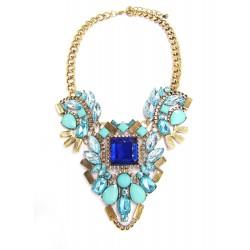 Statement náhrdelník Sapphire Sky
